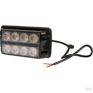 Markeringslykt flash gul 2 x 4 LED